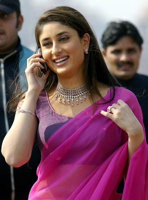 Kareena Kapoor in Diamond Necklace Set