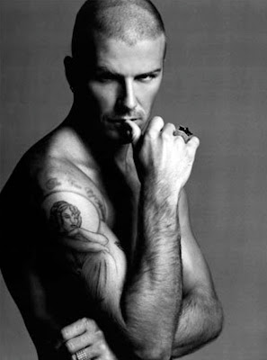 Celebrity Tattoo - David Beckham
