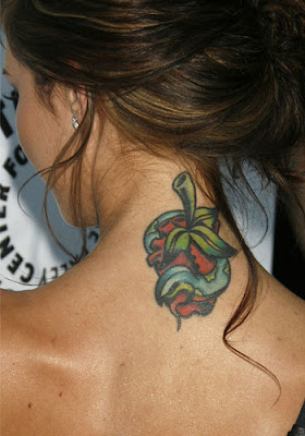 Audrina Patridge Tattoo