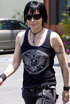 Celebrity Tattoo - Joan Jett