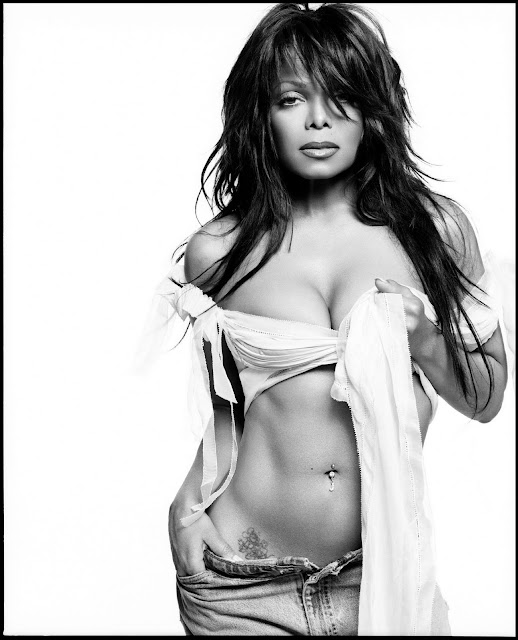 Janet Jackson Tattoos - Celebrity Tattoo Images