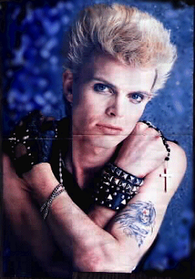 Billy Idol Tattoo - Celebrity Tattoo Images