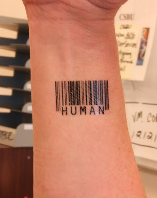 barcode tattoo book. arcode tattoos meaning.
