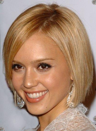 Jessica Alba popular Bob hairstyle