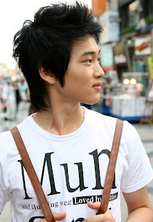 Korean Faux Hawk Hairstyle For Men