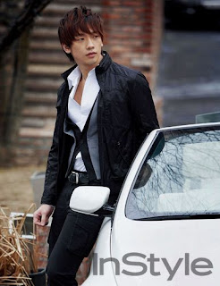 Korean Star Bi Rain Hot Hairstyle Pictures