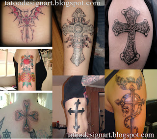 Cross Tattoo Design collection