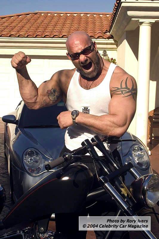 Bill Goldberg Tattoos - WWE Superstar Tattoo Design
