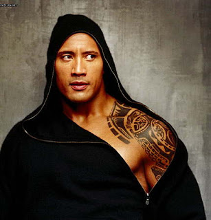 The Rock Tattoos, Dwayne Johnson Tattoos - WWE Superstars Tattoo Design