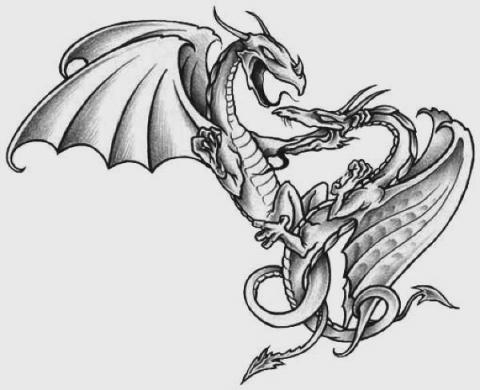 Guns tattoo concept dragon art for tattoos new dragon tattoo ideas