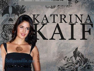 Bollywood Actress Katrina Kaif Temporary Tattoos