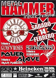 Metal Hammer Tribue Festival