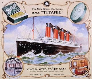Publicidad del Titanic