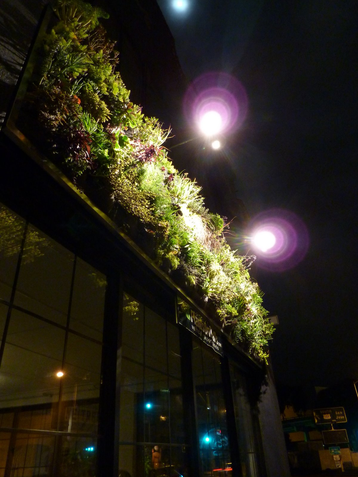 Plants On Walls vertical garden systems: Plants On Walls Showroom
