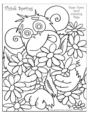 funny coloring pages