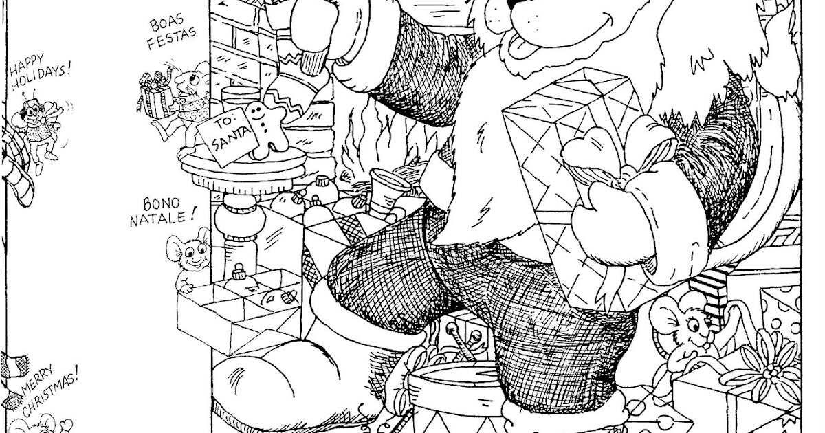 topsy tales by donna j shepherd christmas hidden picture puzzlecoloring page