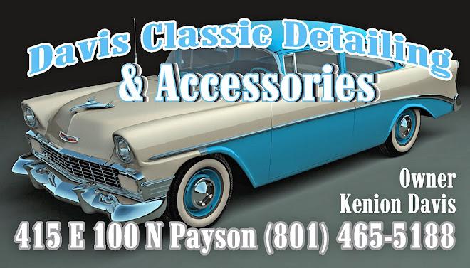 Davis Classic Detailing & Accessories
