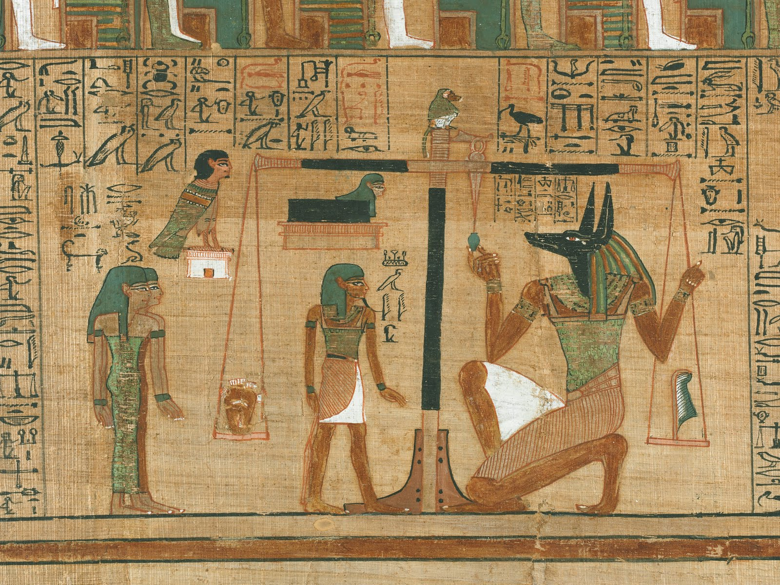 A bad witch 39 s blog egyptian journey through the afterlife for Mural egipcio