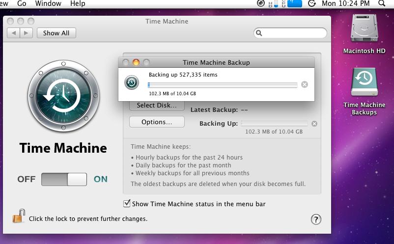 time machine freenas