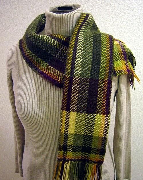 Knitting Retreats In North Carolina : Honeysuckle loom fibonacci sequence scarf