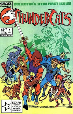 Thundercats Comic Book on The Comic Book Catacombs  1980 S Flashback  Thundercats