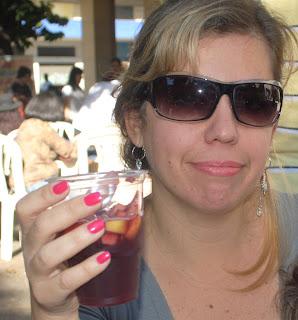 Cássia Santana do blog Abraço Mundo e um gostinho de Espanha