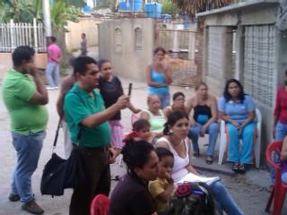 Reunion Consejo Comunal Los Mangos Bolivarianos