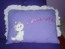almohada de la gatita marie