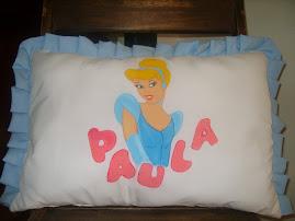 almohada personalizada dibujo pintado a mano