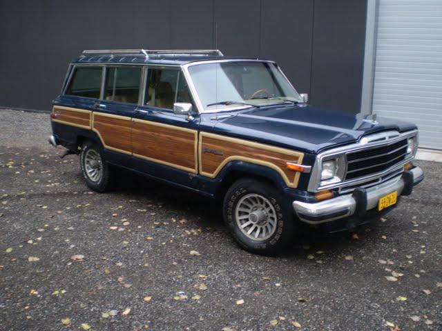 Handels Onderneming West-Friesland: Jeep Wagoneer te koop