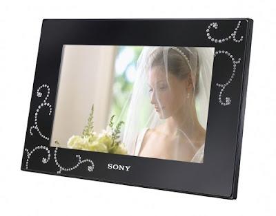 Sony Digital Photo Frame with Swarovski crystals