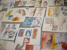 Pedro Cano  a Napoli, per un workshop di nudo dal 27 al 31 ottobre 2008, presso l'Istituto Cervante