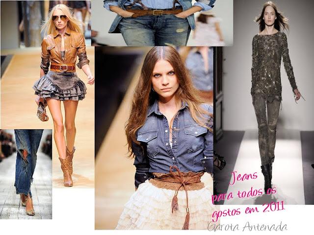Tendência: Jeans