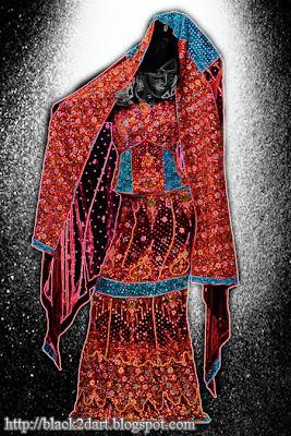 Bridal wear Ghagra Choli dress