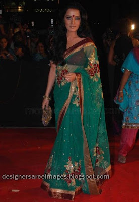 Celina Jaitley on the red carpet
