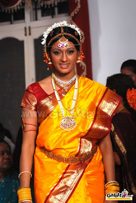 Brinda Parekh in Bridal Silk Saree