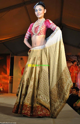 Bridal Wear Collection at the Gitanjali Fashion Show