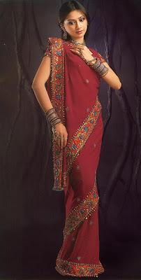 saree draping styles