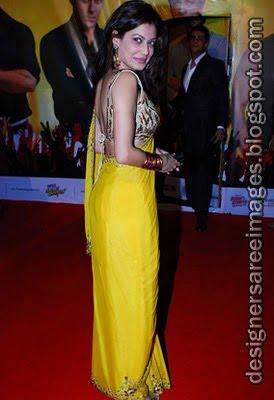 Bollywood Celebrities in Designer Sarees