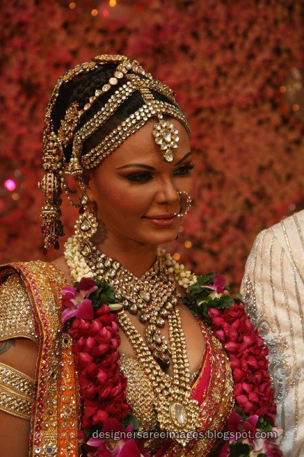 Rakhi Sawant Wedding Dress