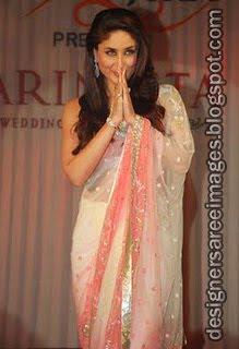 Kareena Kapoor as brand Ambassador of Gitanjali and Parineeta wedding collection