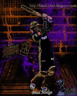 Brad Hodge Kolkata Knight Riders (IPL 2010)