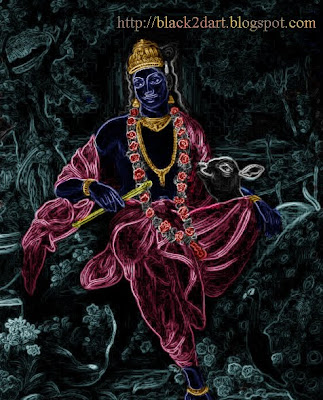 Lord Krishna - Photoshop Art