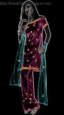 Short Top Churidar Dress