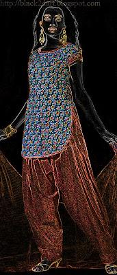 patiyala style fancy churidar