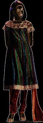 fancy churidar dress