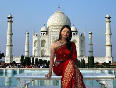 Aishwarya Rai designer saree photo gallery.