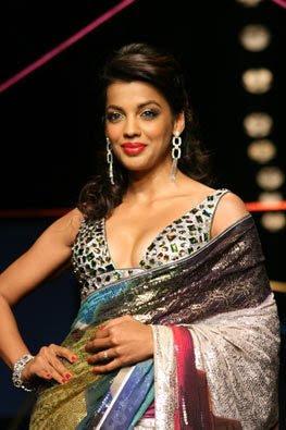 mughda godse satya paul designer saree