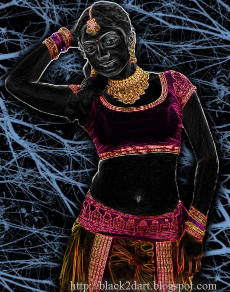 South Indian Actress Sheela - Photoshop Art