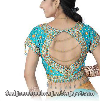 Latest Blouse Design Collection 2010, Blouse Back Design, Blouse Neck Patterns, Blouse Sleeves Design